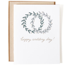 Wedding Day Greeting Card - Ink Meets Paper