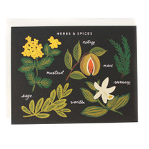 Herbs and Spices Greeting Card - Rifle Paper Co.