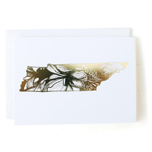 Tennessee State Greeting Card - Thimblepress