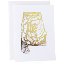 Alabama State Greeting Card - Thimblepress