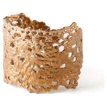 Bronze Lace Cuff by Gabrielle Designs