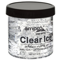 Ampro Style Clear Ice Protein Styling Gel 6 oz
