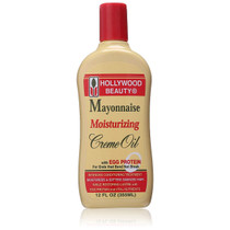 Hollywood Beauty Mayonnaise Moisturizing Creme Oil 12 oz