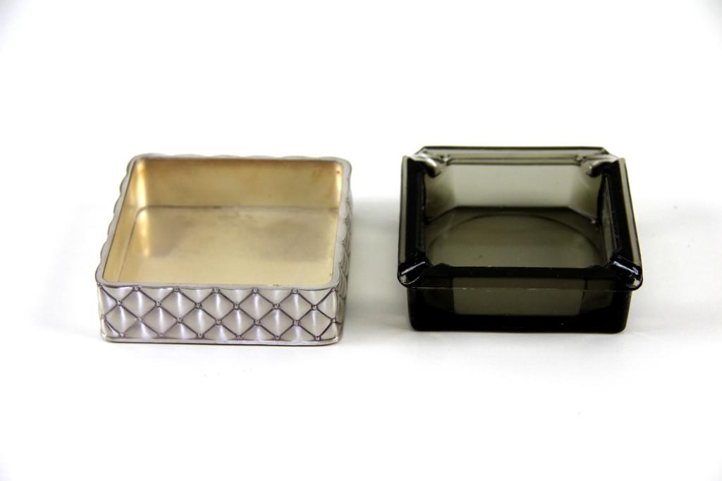 Ashtray Silver Plate