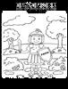 Coloring Page/Hoja de Colorear