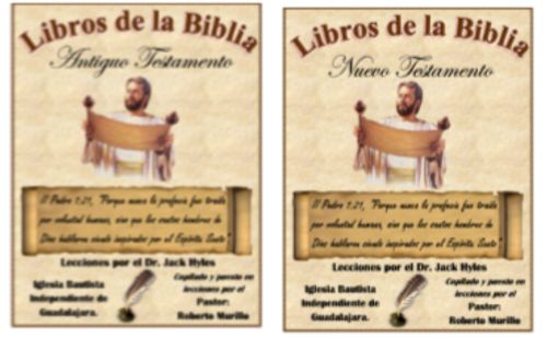 Books of the Bible O.T. Adults/Libros de la Biblia A.T. - Dr. Jack Hyles