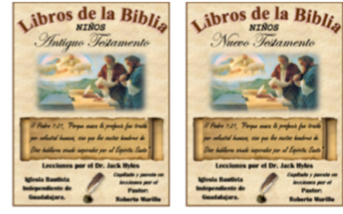 Books of the Bible Children/Libros de la Biblia Niños - Dr. Jack Hyles