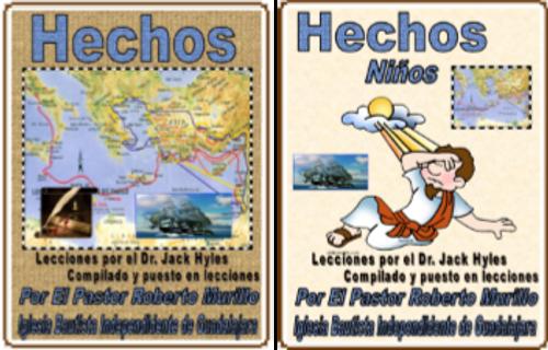 Adult and Children's Lessons from the Book of Acts /Lecciones del libro de Hechos Adultos y Niños