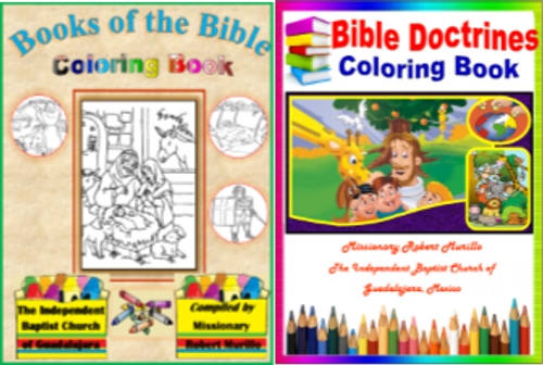 Books of the Bible Coloring Book 66 pages English LAMB