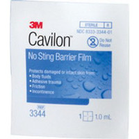 3M Cavilon No-Sting Barrier Film Wipe  883344-Each