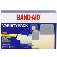 Band-Aid Brand Adhesive Bandages Variety Pack  53004711-Box