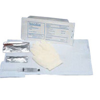 BARDIA Foley Insertion Tray with 10 cc Syringe and BZK Swabs  57802110-Each