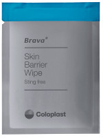 Brava Skin Barrier Wipe, Sting-Free, Alcohol-Free, Silicone-Based  62120215-Box