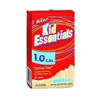 Boost Kid Essentials 1.0 Nutrition Vanilla Flavor 8 oz. Brik Pak  85335100-Case