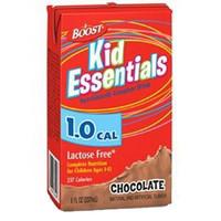 Boost Kid Essentials 1.0 Nutrition Chocolate Flavor 8 oz. Brik Pak  85335200-Case