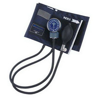Adult Aneroid Sphygmomanometers with Blue Nylon Cuff  6601100016-Each
