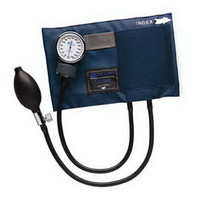 Adult CALIBER Aneroid Sphygmomanometers with Blue Nylon Cuff  6601130016-Each
