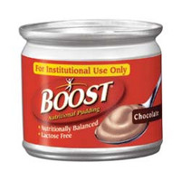 Boost Nutritional Pudding Chocolate Flavor 5 oz. Plastic Cup  8509460300-Each