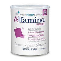 Alfamino Junior Unflavored Powder 14.1 oz.  851303478796-Each