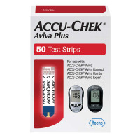 ACCU-CHEK Aviva Plus Test Strip (50 count)  5906908217001-Box