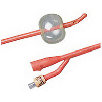 BARDEX Infection Control Coude 2-Way Specialty Foley Catheter 14 Fr 5 cc  570102SI14-Each