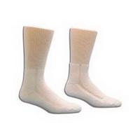 HealthDri Acrylic Diabetic Sock Size 10 - 13, White  8437551PK-Each