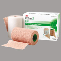 Coban Latex-Free 2-Layer Lite Compression System  882794N-Box