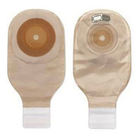 """1 Piece 11"""" Drain Pouch With Barrier, Opaque, Cut-To-Fit Up to 1-3/4"""", Press-N-Seal  9381200V-Box"""