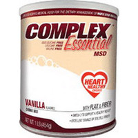 Complex Essential MSD Drink Mix 1 lb Can  AD5972-Each