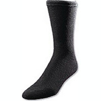 European Comfort Diabetic Sock Large, Black  ATSOXLB-Each