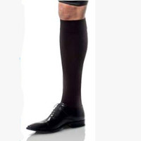 Ambition Knee-High, 20-30 mmHg, Closed Toe, Long, Black, Size 5  BI7766204-Each