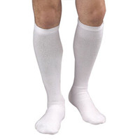 Activa Coolmax Athletic Sock, 20-30, Knee High, White, Medium  BIH31212-Each