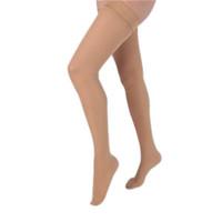 Health Support Vascular Hosiery 2030 mmHg, Full Length Thigh, Closed Toe, Sheer, Beige, Regular Size A