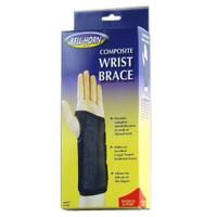 "BellHorn Right Composite Wrist Brace, Small 51/2""  61/2"" Wrist Circumference, Black"