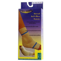 BellHorn Heel and Elbow Protector, Universal 11'', White