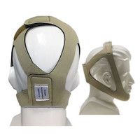 Topaz Style Chinstrap, Adjustable, Tan