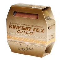 "Kinesio Tex Gold Wave Elastic Athletic Tape 2"" x 5.4 yds., Beige"