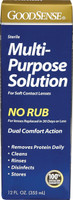 MultiPurpose Saline Solution for Soft Contact Lenses, 12 oz.
