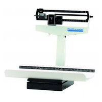 Mechanical Pediatric Tray Scale with Measure Tape, 130 lb. Capacity
