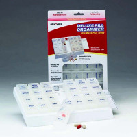 AcuLife Deluxe Pill Organizer 'One Week Plus Today'