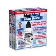 Sinus Rinse Starter Kit (50 Packets)