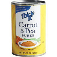 ThickIt Carrot and Pea Puree 15 oz. Can