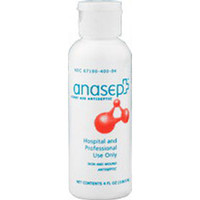 Anasept Antimicrobial Wound Cleanser 4 oz. Bottle