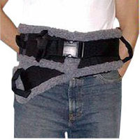 SafetySure Transfer Belt, Sherpa Style, Small