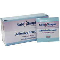 Safe N Simple Adhesive Remover Wipe