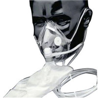 Adult Oxygen Mask w/Soft Anatomical Form,Each