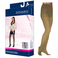 EverSheer Pantyhose, 1520, Medium, Long, Closed, Natural