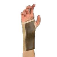 """Beige, Left, Sm (2 1/2""""3"""") Elast Wrist Brace,Stay"""