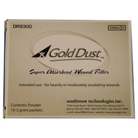 Gold Dust Hydrophilic Polymer Powder, 3 g Packet