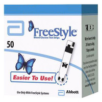 FreeStyle Blood Glucose Test Strip (50 count) Retail